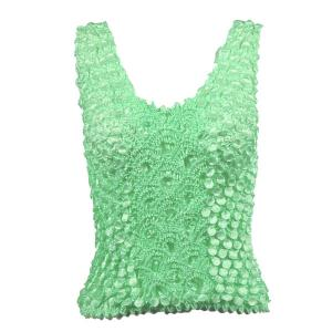 Wholesale  Vivid Mint Coin Fishscale - Tank Top - One Size (S-XL)