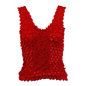 wholesale Coin Fishscale - Tank Top Red - One Size (S-XL)