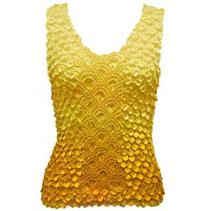 wholesale Coin Fishscale - Tank Top Variegated Yellow - One Size (S-XL)