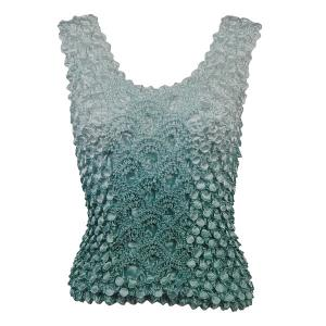 wholesale Coin Fishscale - Tank Top Two-Tone Dusty Blue - One Size (S-XL)