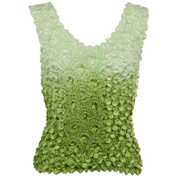 wholesale Coin Fishscale - Tank Top Variegated Leaf Green -