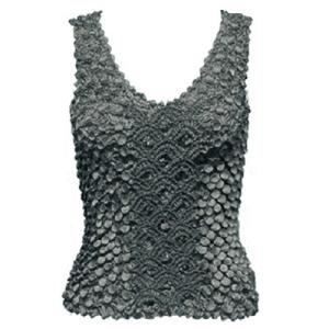wholesale Coin Fishscale - Tank Top Dark Grey - One Size (S-XL)