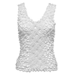 wholesale Coin Fishscale - Tank Top White - One Size (S-XL)