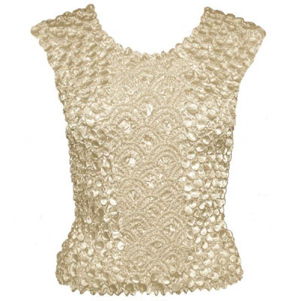 Wholesale Coin Fishscale - Sleeveless  Pearl - One Size (S-XL)