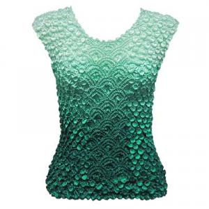 Wholesale Coin Fishscale - Sleeveless Variegated Seagreen - One Size (S-XL)