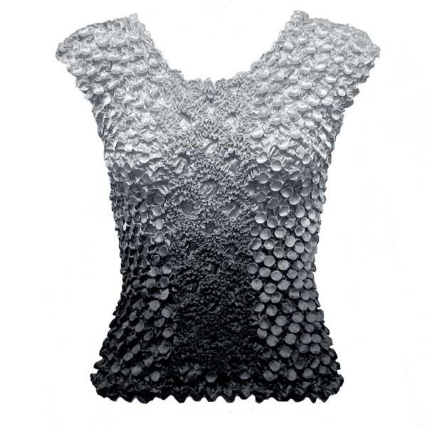Wholesale Coin Fishscale - Sleeveless Variegated Grey - One Size (S-XL)