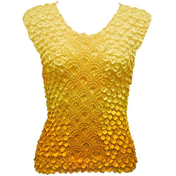 Wholesale Coin Fishscale - Sleeveless Variegated Yellow - One Size (S-XL)