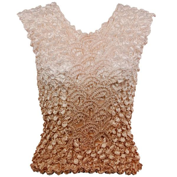 Wholesale Coin Fishscale - Sleeveless Variegated Taupe - One Size (S-XL)