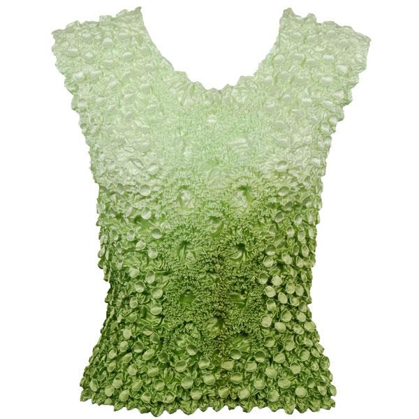 Wholesale Coin Fishscale - Sleeveless Variegated Leaf Green - One Size (S-XL)