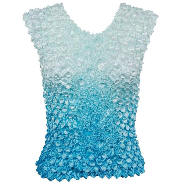 Wholesale Coin Fishscale - Sleeveless Variegated Ice Blue - One Size (S-XL)