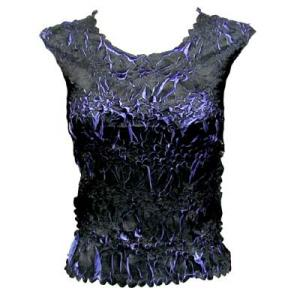 Wholesale Origami - Sleeveless Black - Periwinkle - One Size (S-XL)