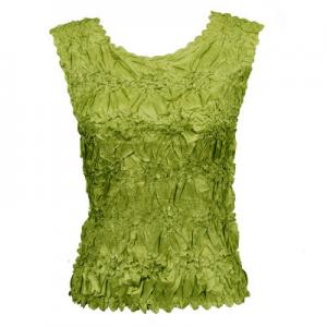 Wholesale Origami - Sleeveless Solid Leaf Green - One Size (S-XL)