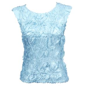 Wholesale Origami - Sleeveless Solid Light Blue - One Size (S-XL)