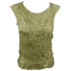 Wholesale Origami - Sleeveless Celery - Lemon - Queen Size Fits (XL-3X)