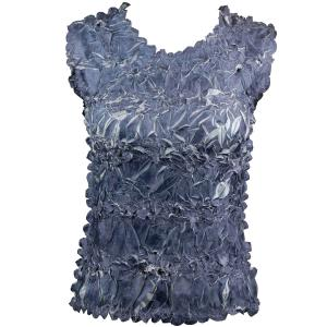 Wholesale Origami - Sleeveless Charcoal - Silver - One Size (S-XL)