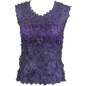 Wholesale Origami - Sleeveless Black - Purple - One Size (S-XL)