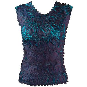 Wholesale Origami - Sleeveless Dark Purple - Teal - One Size (S-XL)