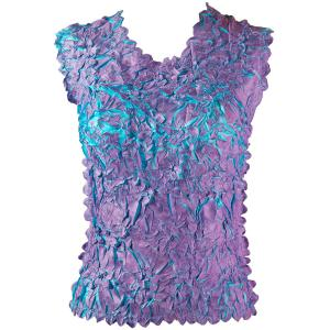 Wholesale Origami - Sleeveless Orchid - Aqua - One Size (S-XL)