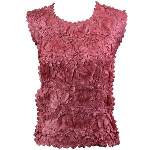 Wholesale Origami - Sleeveless Solid Coral Pink - One Size (S-XL)