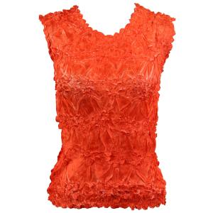 Wholesale Origami - Sleeveless Orange - Coral - One Size (S-XL)