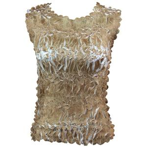 Wholesale Origami - Sleeveless Gold - White - One Size (S-XL)
