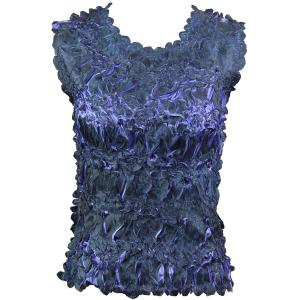 Wholesale Origami - Sleeveless Black - Violet - One Size (S-XL)