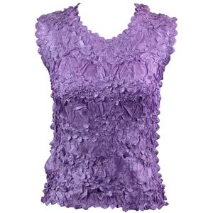 Wholesale Origami - Sleeveless Solid Light Orchid - One Size (S-XL)