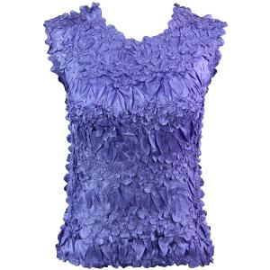 Wholesale Origami - Sleeveless Solid Violet - One Size (S-XL)