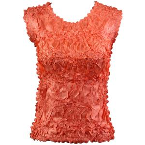 Wholesale Origami - Sleeveless Solid Tangerine - One Size (S-XL)