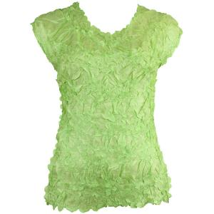 Wholesale Origami - Sleeveless Solid Spring Green - Queen Size Fits (XL-3X)