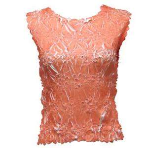 Wholesale Origami - Sleeveless Tangerine - White - One Size (S-XL)