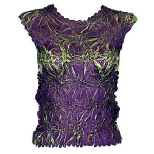 Wholesale Origami - Sleeveless Plum - Spring Green - One Size (S-XL)