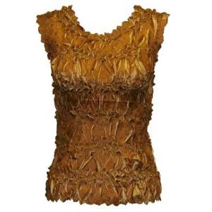 Wholesale Origami - Sleeveless Caramel - Taupe - One Size (S-XL)