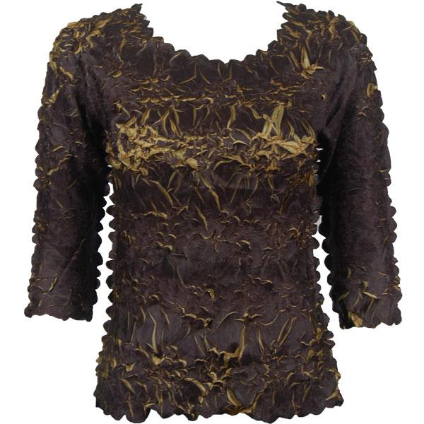 wholesale Origami - Three Quarter Sleeve Java - Gold MB - One Size (S-XL)