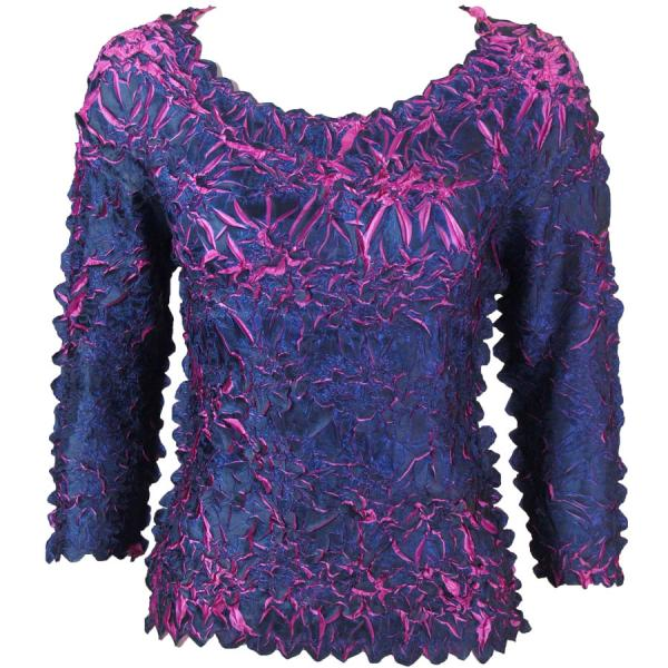 Wholesale Origami - Three Quarter Sleeve Midnight - Orchid - One Size (S-XL)