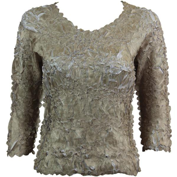 Wholesale Origami - Three Quarter Sleeve Gold - Pearl - One Size (S-XL)