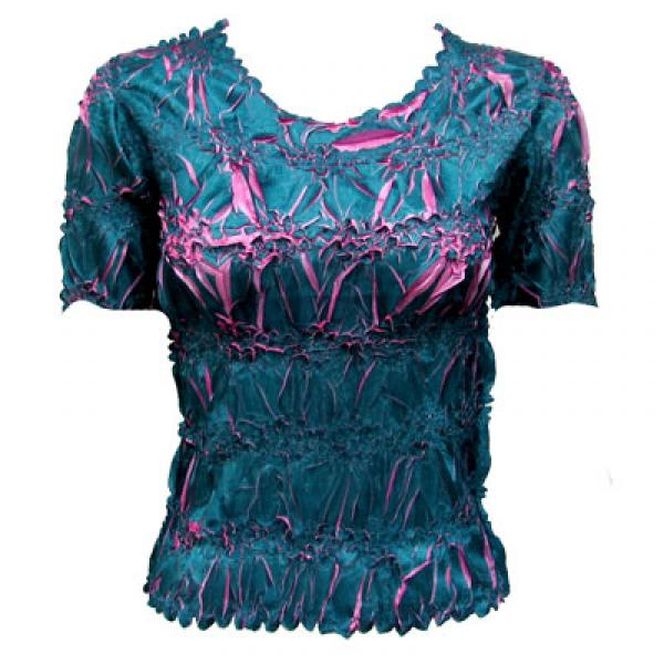 Wholesale Origami - Short Sleeve Teal - Flamingo - One Size (S-XL)