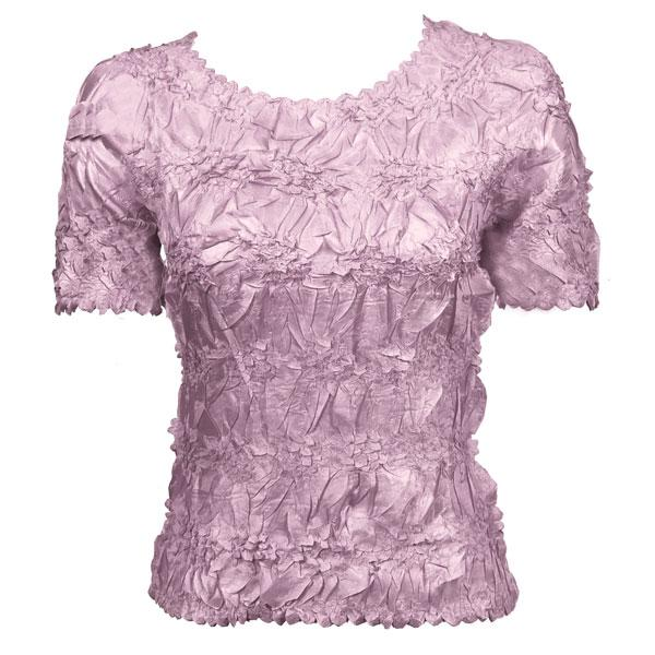 Wholesale Origami - Short Sleeve Solid Lilac - One Size (S-XL)