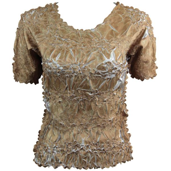 Wholesale Origami - Short Sleeve Gold - Pearl - One Size (S-XL)