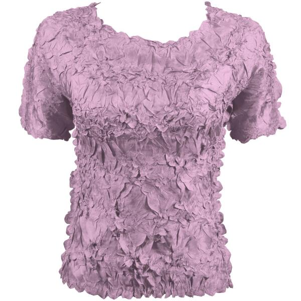 Wholesale Origami - Short Sleeve Solid Violet - One Size (S-XL)