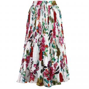 Wholesale Skirts - Long Cotton Broomstick with Pocket 503 Print #20 -