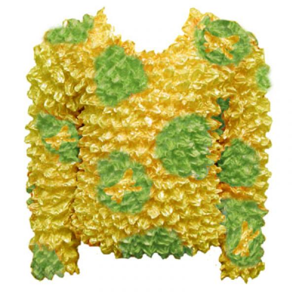 Wholesale Silky Touch Popcorn - Kids Size  Long Sleeve Lemon-Lime Butterfly Silky Touch Popcorn Top - Kids Size - Toddler - Tween