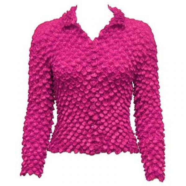 Wholesale Coin Style - Cardigan Magenta - One Size (S-XL)