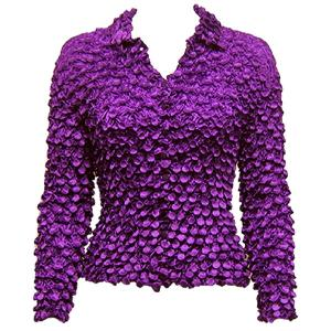 wholesale Coin Style - Cardigan Purple - One Size (S-XL)