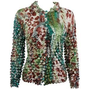 wholesale Coin Style - Cardigan Giraffe Green-Brown - One Size (S-XL)