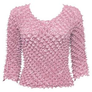 wholesale Spike Popcorn - Three Quarter Sleeve Dusty Pink - One Size (S-L)