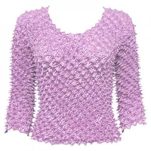 wholesale Spike Popcorn - Three Quarter Sleeve Lavender - One Size (S-L)
