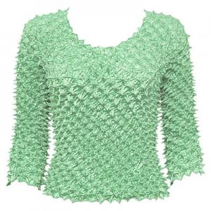 Wholesale  Mint Spike Top- Three Quarter Sleeve - One Size (S-L)