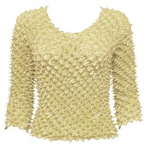 Wholesale  Vanilla Spike Top- Three Quarter Sleeve - One Size (S-L)