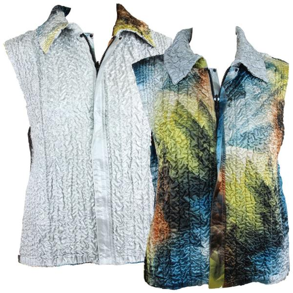 Quilted Reversible Vests #14004  - S-L